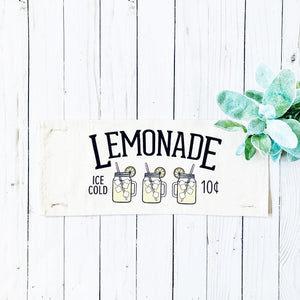 Seasonal Panel: Summer Lemonade