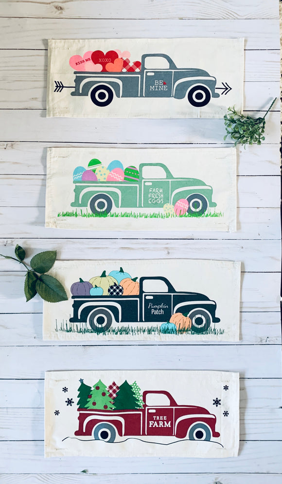 BUNDLE DEAL: Vintage Truck Panels (4 pack) SAVE!!