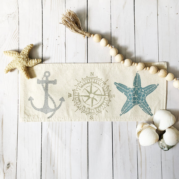 Seasonal Panel: Nautical Coastal Charm