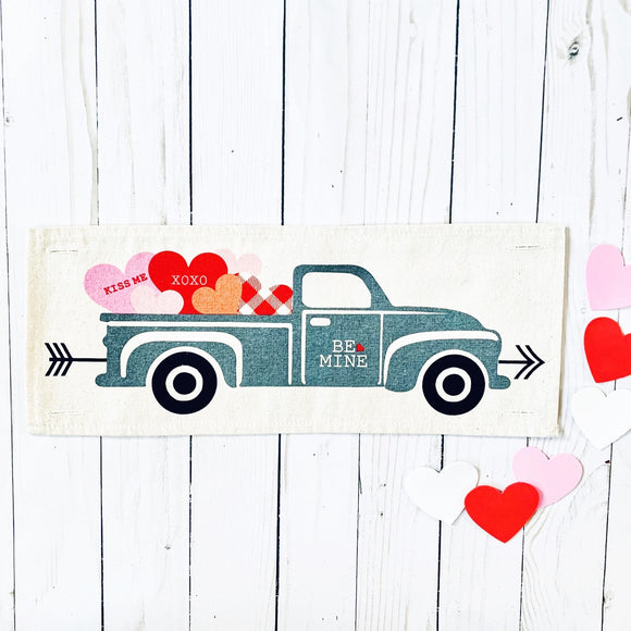 Holiday Panel: Vintage Truck Valentines