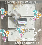 Seasonal Set w/ Burlap Pillow  (comes with: pillow and these 4 seasons, inside back pocket)