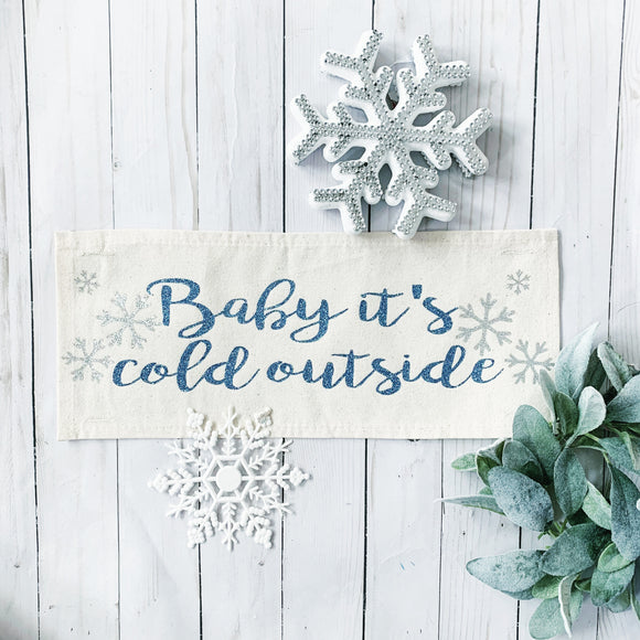 Glitter Panel: Baby it's Cold Outside