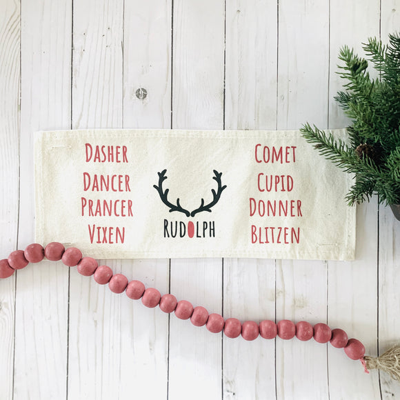 Holiday Panel: Reindeer Names