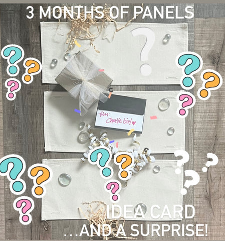 Seasonal Set  (comes with: pillow and these 6 holidays shown here,  inside back pocket)