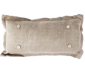Burlap Pillow ONLY (w/ foam insert): Build your own collection of panels!