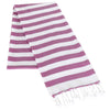 Candy Stripe - Hand-loomed 100% Cotton Turkish Towel