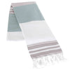 Vineyard - Terry-Lined Turkish Towel with Fringe