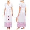 Charisma - 100% Turkish Cotton Beach Dress with Tassels