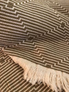 Hypnosis Indoor/Outdoor Hand-loomed Turkish Cotton Blanket
