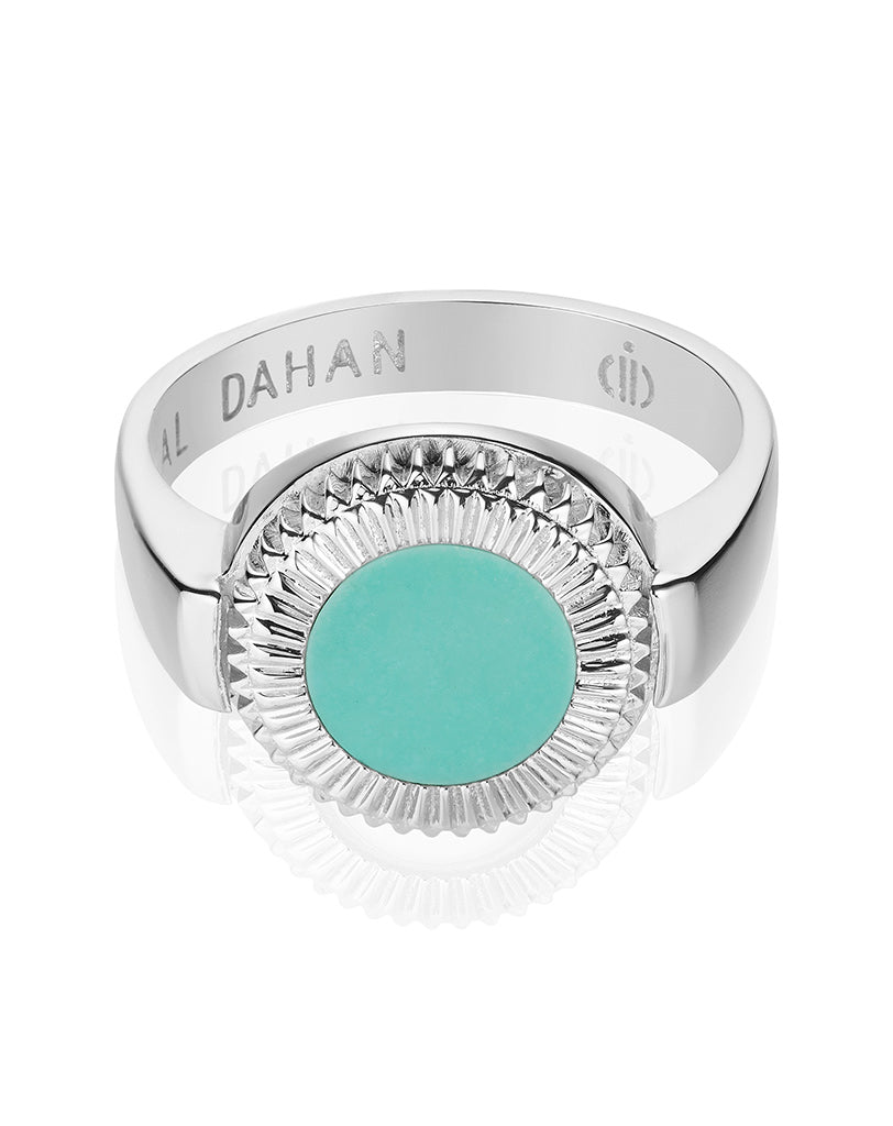 Winder of Love Ring (Turquoise)