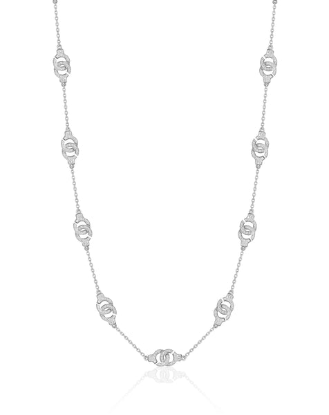 The Hedone 10 Cuff Necklace with Diamonds