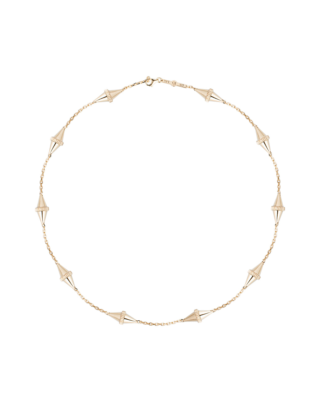 The Polli Long 10-BiCone Necklace