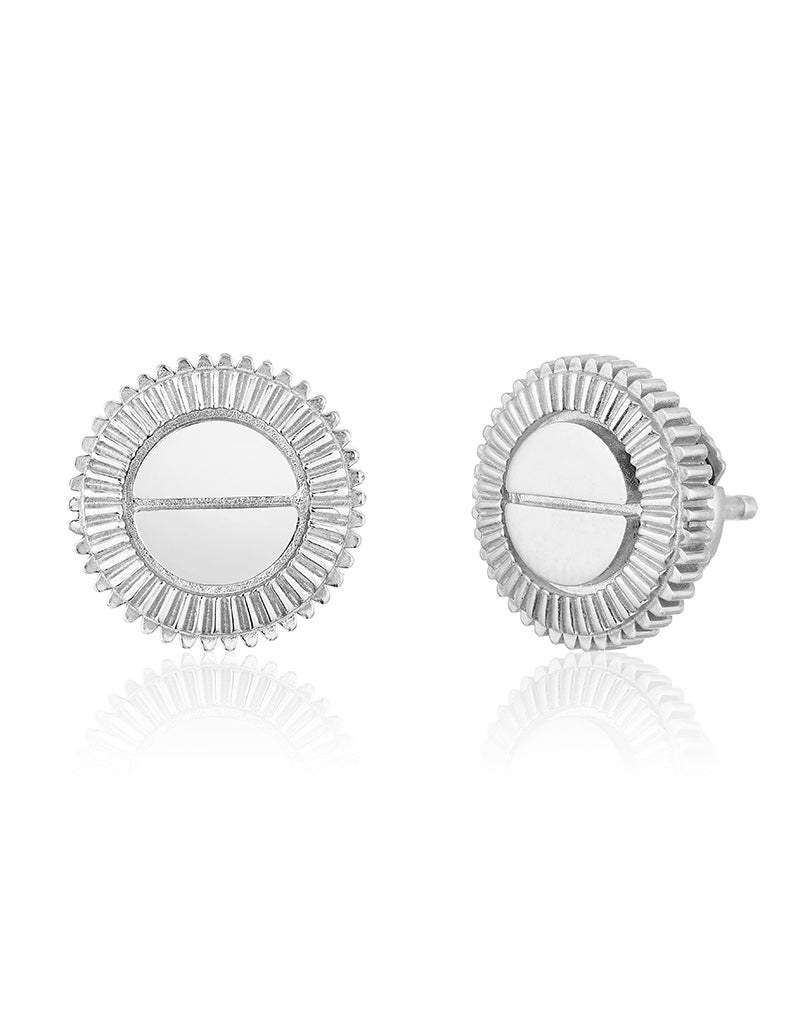 Winder of Love Earring Set (White)