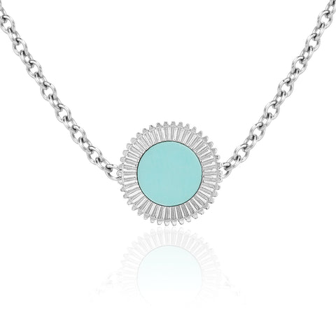 Winder of Love Pendant (Turquoise)
