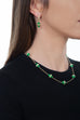 Tresor Iconec Necklace, 10 Motifs (Green)