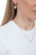 Tresor Iconec Pendant with Diamonds (White)
