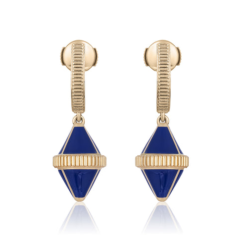 Tresor Iconec Earring Set (Blue)