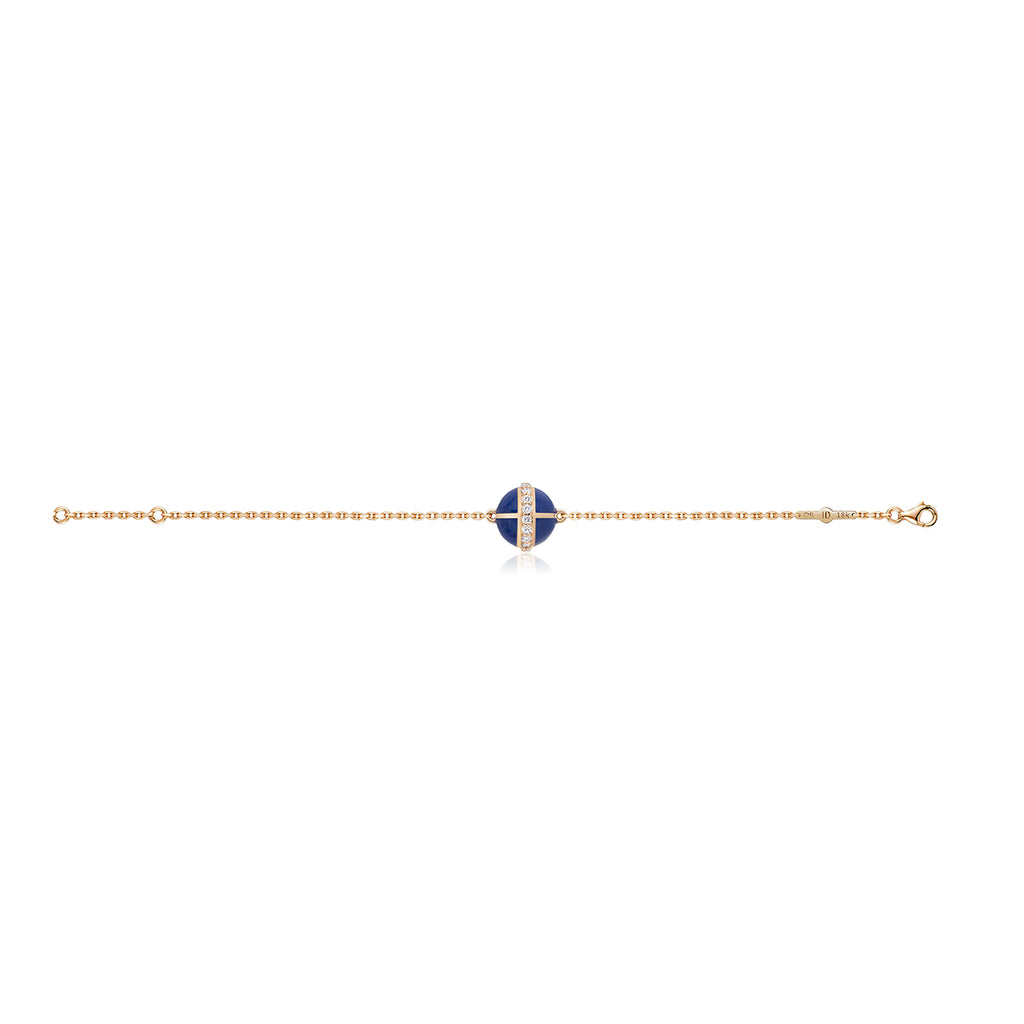 Rising Canopus Bracelet with Diamonds (Blue)