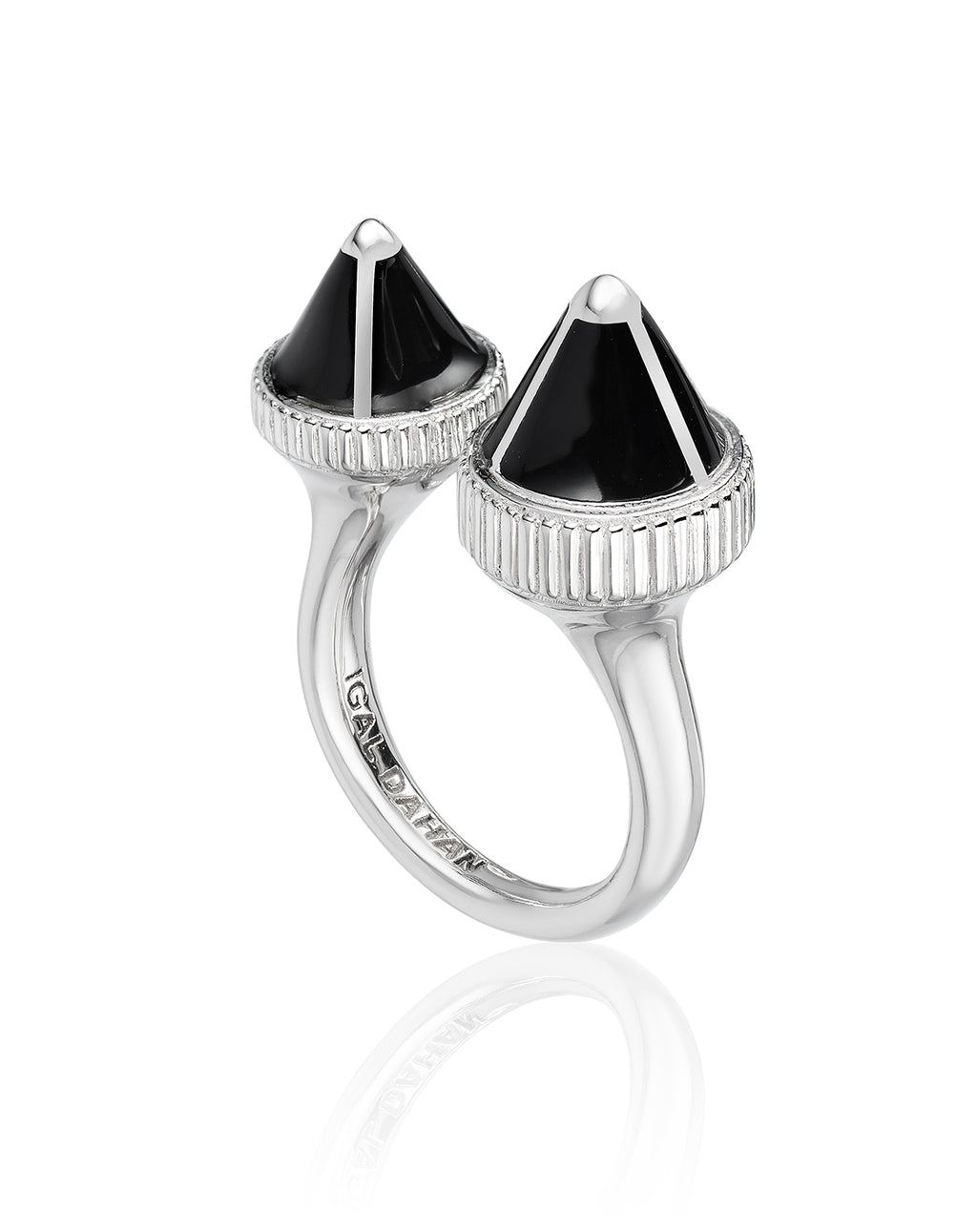 Tresor Iconec Between The Finger Ring (Onyx)