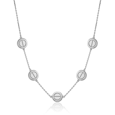 The Eos 5-Screw Necklace