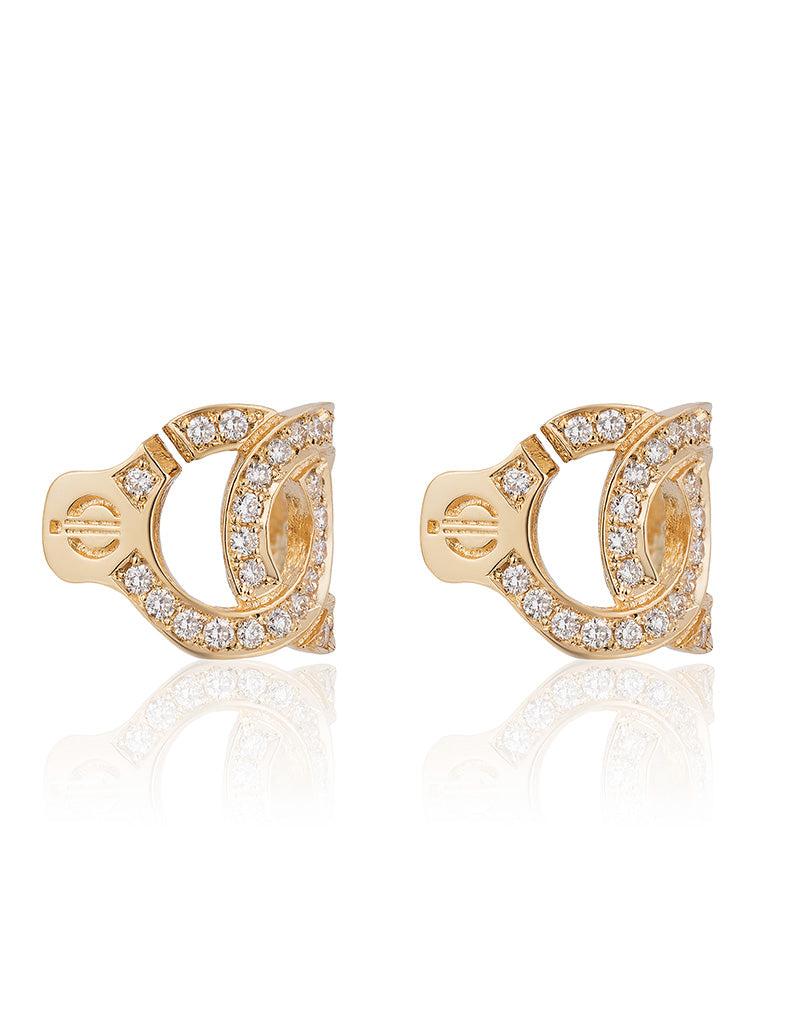 The Aphrodite Earrings with Diamonds