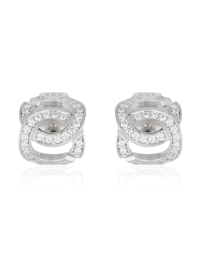 The Hedone Earrings with Diamonds