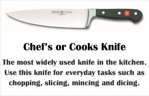 Knife Education Cutlery Pro Shop