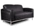 Contemporary Lounge Seating Love Seat