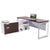 Options Straight Desk with Low Credenza