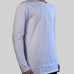 LONG SLEEVE DROP TEES (WHITE)
