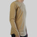 SCOOPED LONG SLEEVES (TAN)