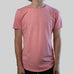 SCOOPED TEE (SALMON)