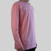LONG SLEEVE DROP TEE (SALMON)