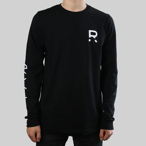 R LONG SLEEVE (BLACK)