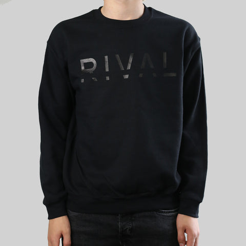 STEALTH RIVAL CREW (BLACK)