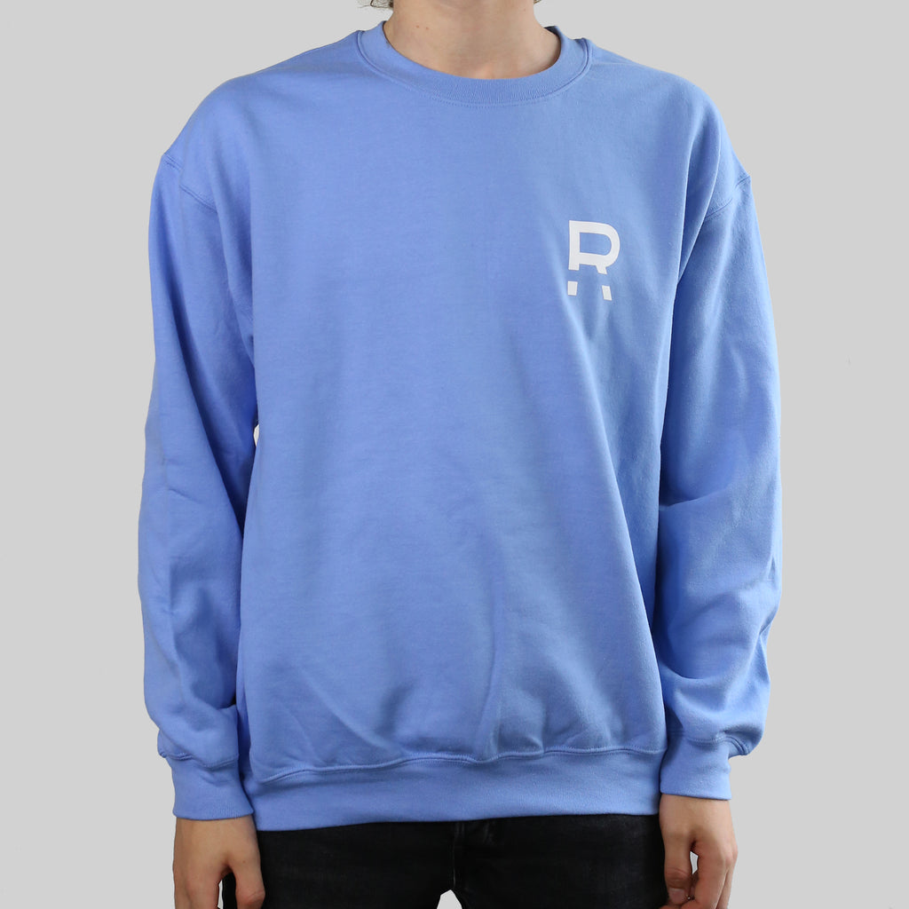 """R"" CREW (LIGHT BLUE)"