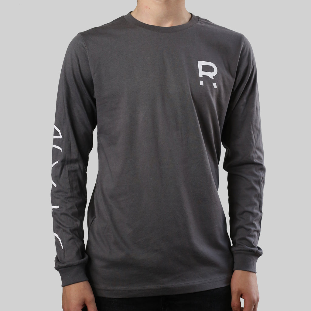 R LONG SLEEVE (GREY)