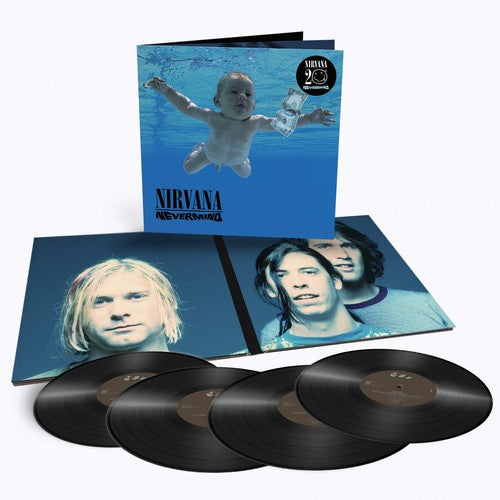 Nirvana-Nevermind 4 LPs Deluxe Edition)