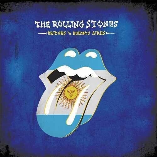 The Rolling Stones Bridges To Buenos Aires 3 Blue 180 Gram Vinyl LPs