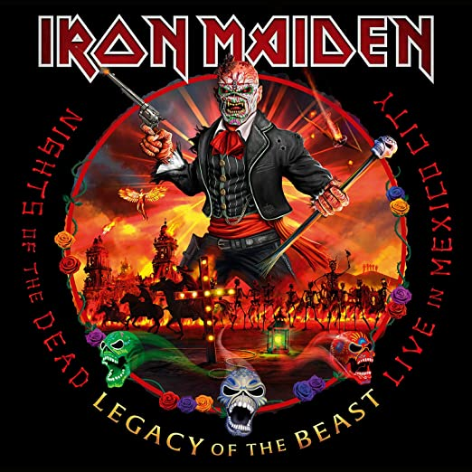 Iron Maiden - Night Of The Dead, Legacy Of The Beast: Live In Mexico City 3 Vinyl LPs