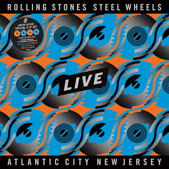 The Rolling Stones- Steel Wheels Live: Atlantic City New Jersey (4LP Colored 180gm Vinyl) [Import]