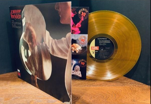Johnny Winter- The Progressive Blues Experiment- 180 Gram Gold Vinyl