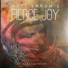 Matt Sorum's Fierce Joy Stratosphere (Autographed - Creased Cover)