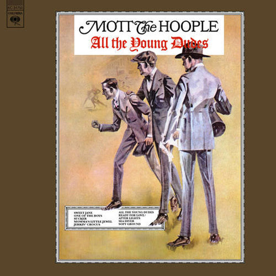 Mott The Hoople-All The Young Dudes Opaque Red Vinyl