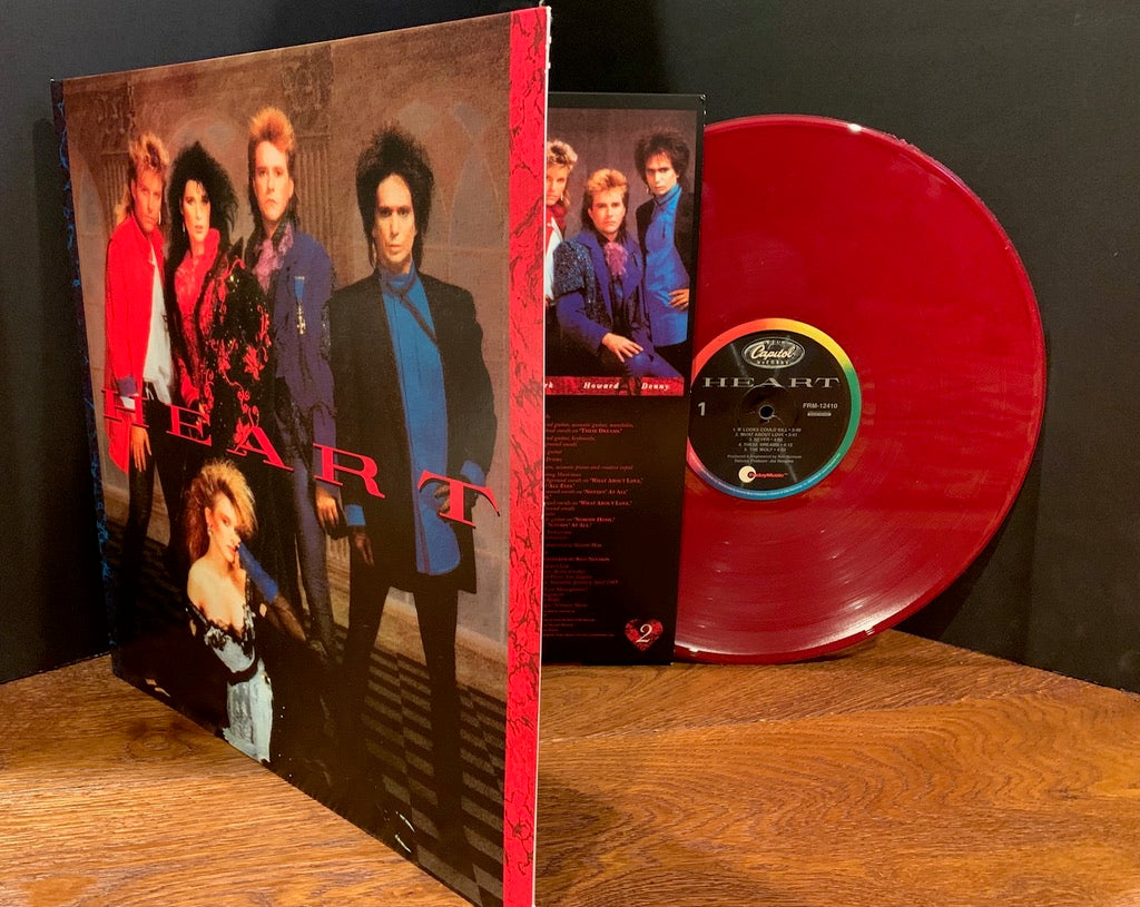 Heart - Heart 180 Gram Burgundy Red Vinyl