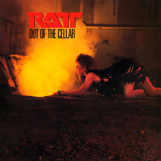 Ratt- Out Of The Cellar- 180 Gram Translucent Gold