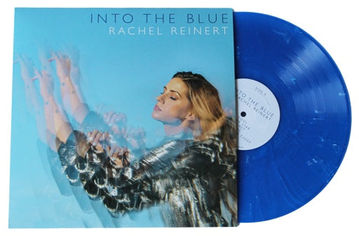 "Rachel Reinert- Into The Blue - Blue Vinyl w/ 5""x7"" Personally Autographed Picture"