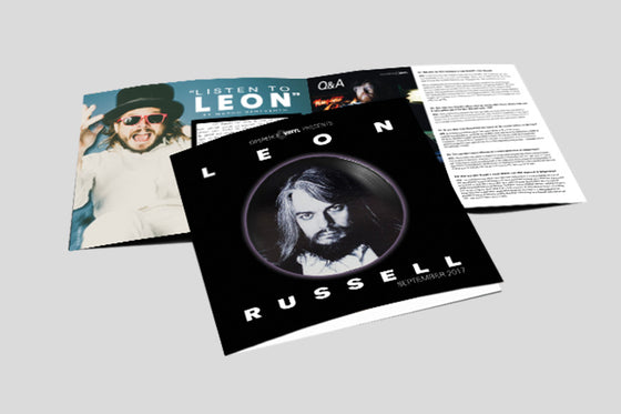 Leon Russell Limited Edition Box Set (Creased Cover)