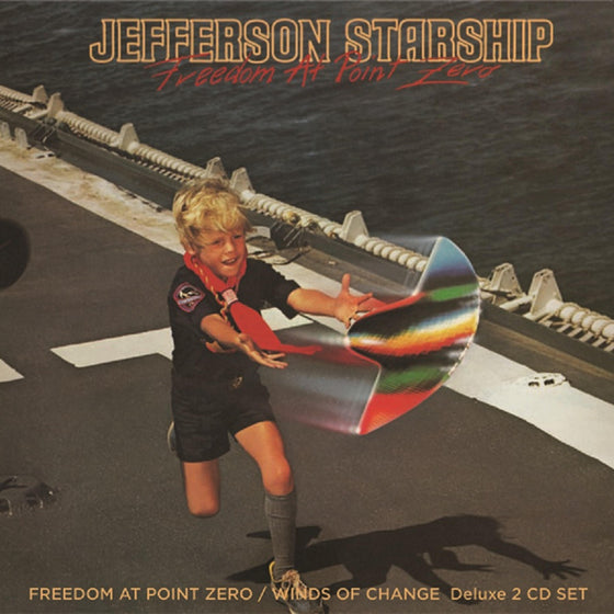 Jefferson Starship - Freedom at Point Zero - Orange Vinyl