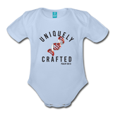 Uniquely Crafted Organic Short Sleeve Baby Bodysuit - CANADA - Everything Psalms